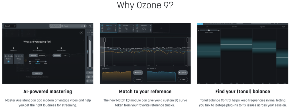 iZotope Ozone 9 in action